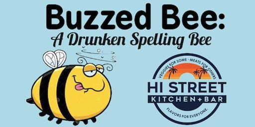 Buzzed Bee: A Drunken Spelling Bee