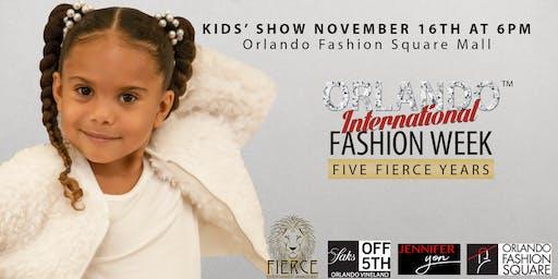 Orlando International Fashion Week - Kids' Show - Fierce Entertainment