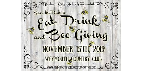 Eat, Drink & BEE Giving- MCSF's Fall Fundraiser tickets