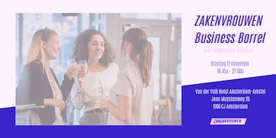 Zakenvrouwen Business Borrel voor ambitieuze vrouw