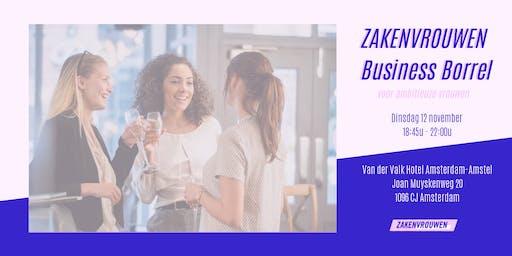 Zakenvrouwen Business Borrel voor ambitieuze vrouwen [Amsterdam]