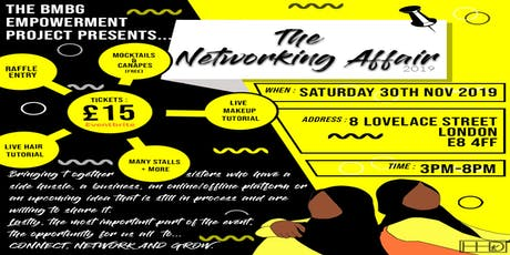 THE BMBG NETWORKING AFFAIR tickets