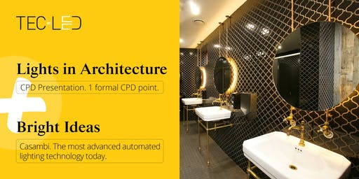 CPD for Architectural Lighting + Bright Ideas: A Smart Approach to Lighting