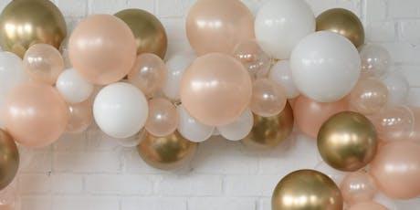 Balloon Garland Workshop tickets