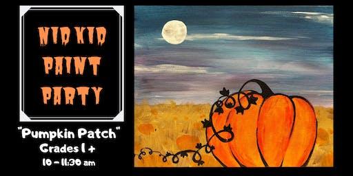 """Pumpkin Patch"" NID Kid Paint Party"