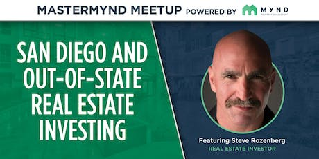 MasterMynd Meetup - Grow Your Portfolio Investing in San Diego and Out-Of-State tickets