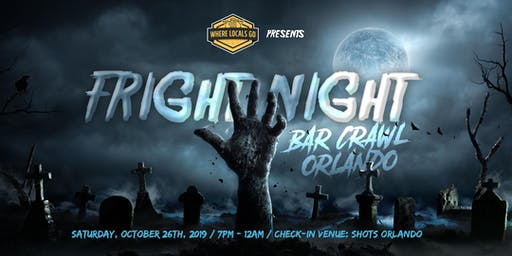 2nd Annual Fright Night Bar Crawl in Downtown Orlando