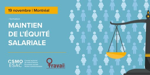 Maintien de l'équité salariale - Montréal,19 novembre
