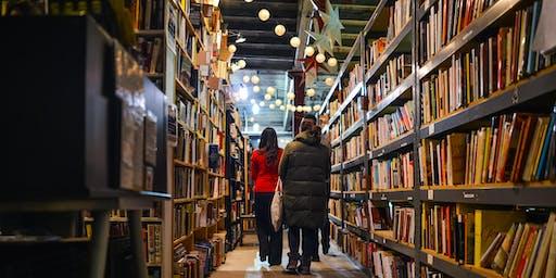 Book Sale at Open Books Pilsen Warehouse