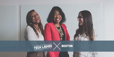 Tech Ladies Boston: Lightning Talks & Networking sponsored by Audible tickets
