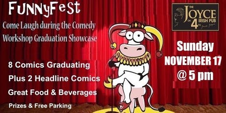 COMEDY WORKSHOP GRAD SHOW: Sunday, November 17 @ 5 pm tickets