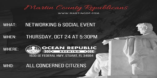 Martin County Republican Networking Event