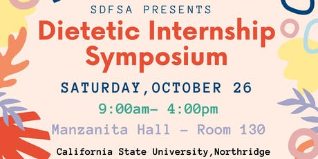 2019 Dietetic Internship Symposium tickets