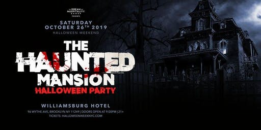Halloween At The Haunted Mansion Williamsburg Hotel October 26