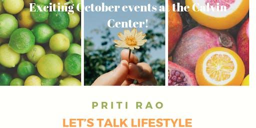 Priti Rao Let's Talk Lifestyle Presentation and Demonstration