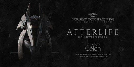 Halloween AfterLife At Célon October 26