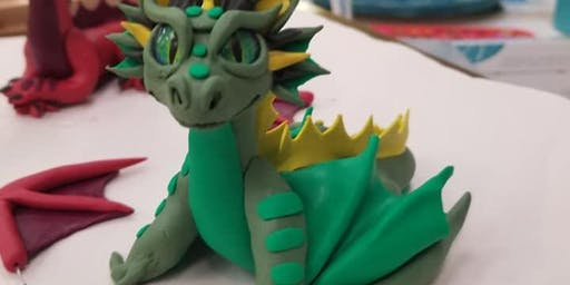 Make Your Own Clay Dice Dragon