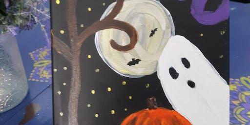 Kids Spooky Paint Night