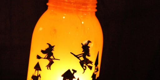 Create your own Witch Lantern!
