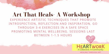 Art That Heals- Workshop tickets