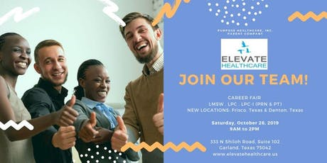Elevate Healthcare, LLC Career Fair tickets