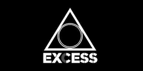 Soirée Excess // 9 novembre 2019 billets