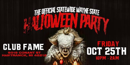 """LIT""  WAYNE STATE HALLOWEN PARTY"