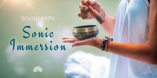Sonic Immersion: Sound Bath - Booked Out