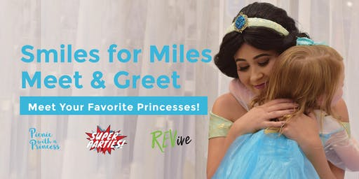 Princess Meet and Greet - Charity Event