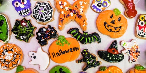 Tricks and Treats Kids Halloween Cookie Decorating