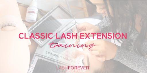 Classic Lash Extension Training with Lashforever Canada