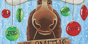 Paint with Art U - Christmas Moose
