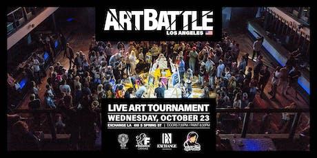 Art Battle Los Angeles - October 23, 2019 tickets