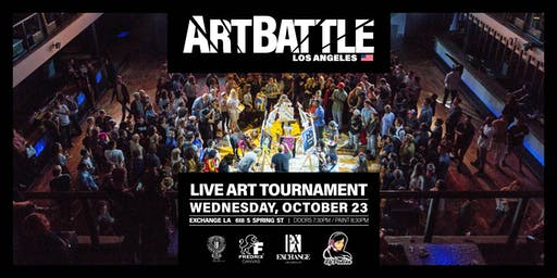 Art Battle Los Angeles - October 23, 2019