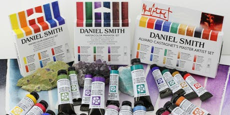 Exploring Daniel Smith Watercolors tickets