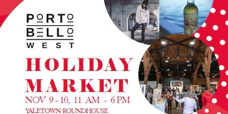 Portobello West Holiday Market 2019 tickets