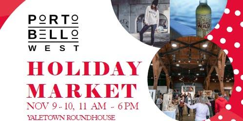 Portobello West Holiday Market 2019