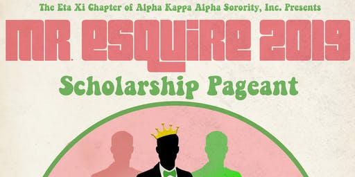 Mr. Esquire 2019 Scholarship Pageant