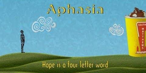 "APHASIA SG Movie Screening- ""Aphasia: Hope is a Four Letter Word"""
