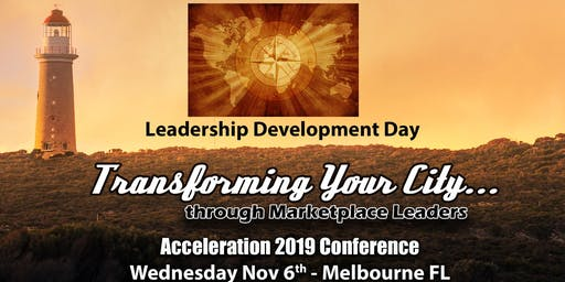 Transforming Your City Acceleration Day Conference Pass (Wednesday)