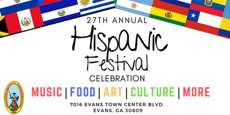27th Hispanic Festival tickets