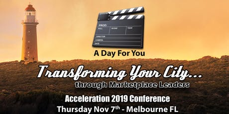Transforming Your City Acceleration Day Conference Pass (Thursday) tickets