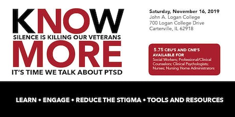 KNOW MORE - PTSD Educational Conference tickets