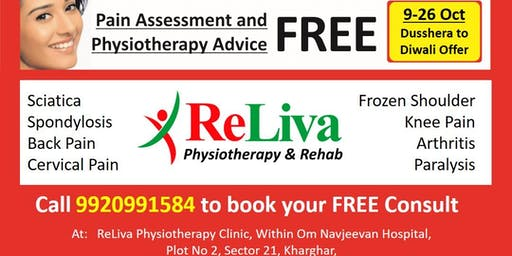 Kharghar: Dusshera to Diwali Pain Free, Physiotherapy Special Offer