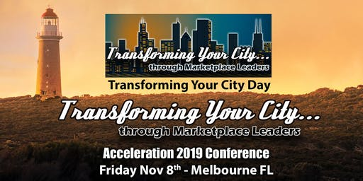 Transforming Your City Acceleration Day Conference Pass (Friday)
