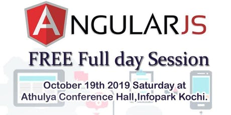 FREE WORKSHOP: Angular 8 with .Net Core 3 tickets