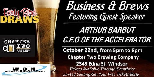 Business & Brews Networking Event With Guest Speak
