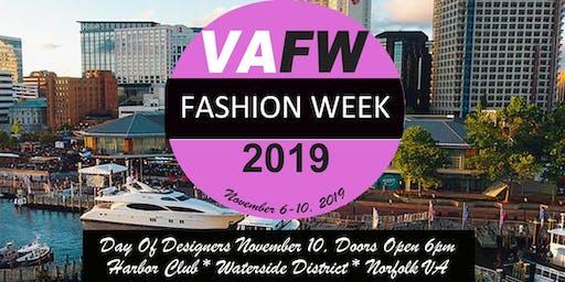 VA Fashion Week 2019 Day Of Designers