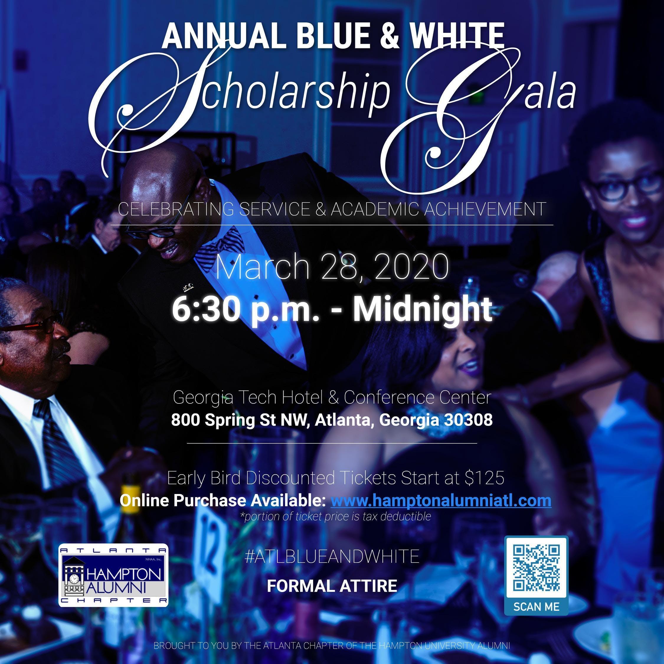 Georgia Current Events 2020.Hampton Alumni Atlanta Annual Blue White Scholarship Gala