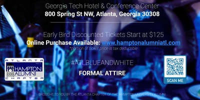 Hampton Alumni Atlanta Annual Blue & White Scholarship Gala